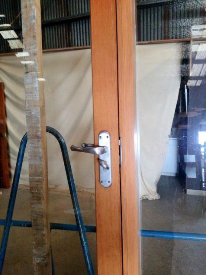 Wooden Entryway
