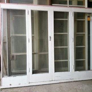 Wooden French Doors With Sidelights