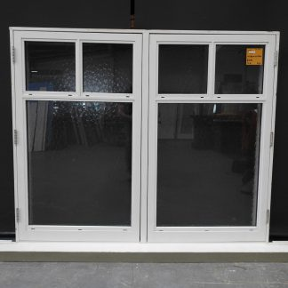 Bungalow Style Double Glazed Wooden Casement Window
