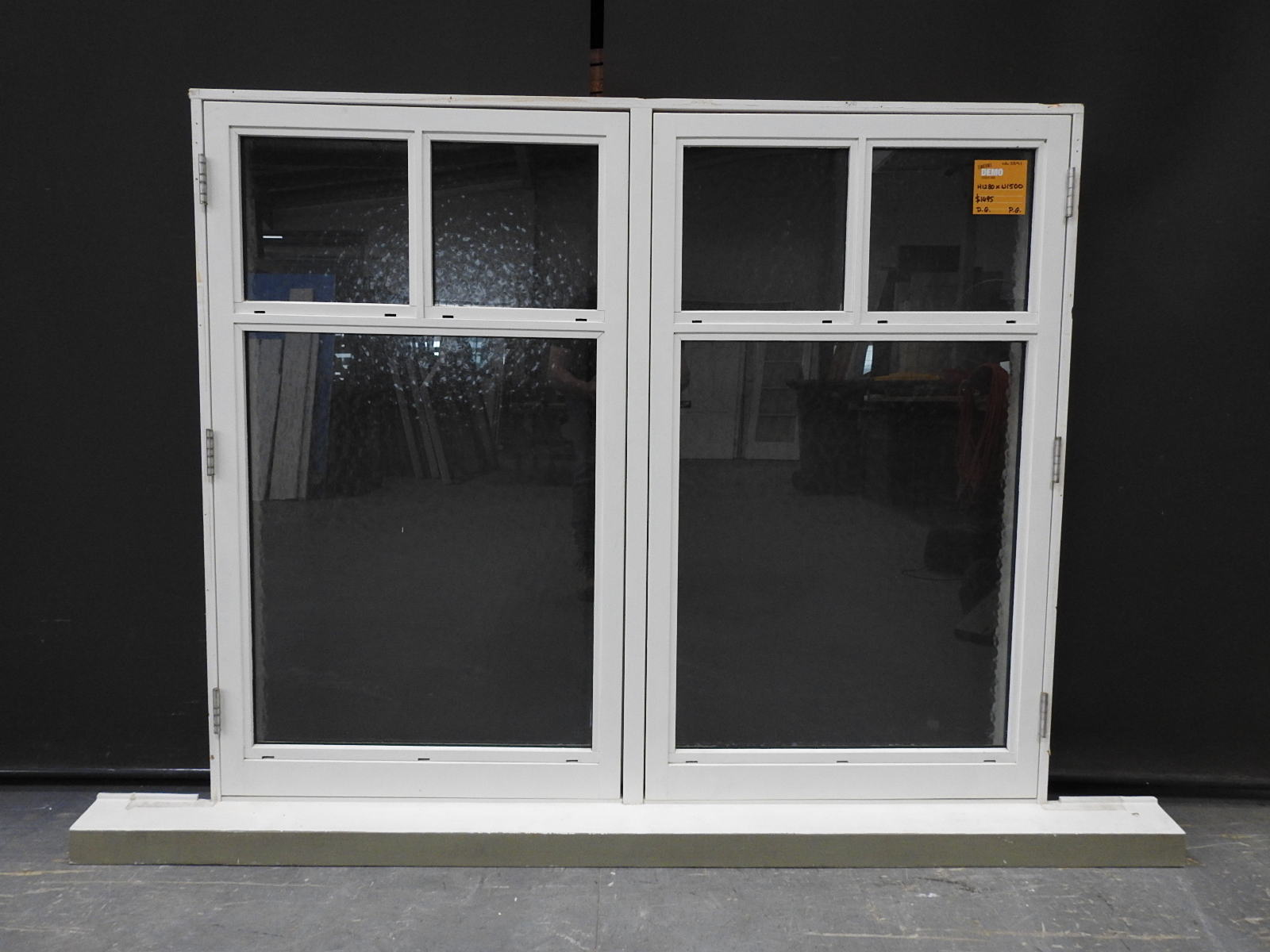 Bungalow style double glazed wooden casement window h for Wooden casement windows