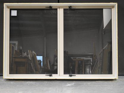 Almond Aluminium Casement Window