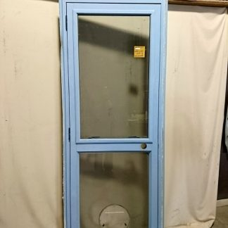 Wedgewood Blue Aluminium Door