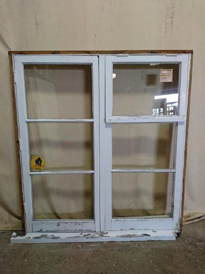 Wooden Casement Window With Toplight