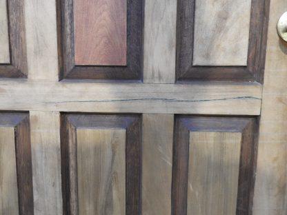 Kauri 15 Panel Exterior Entry Door In Jamb With Keys - 865Wide Door