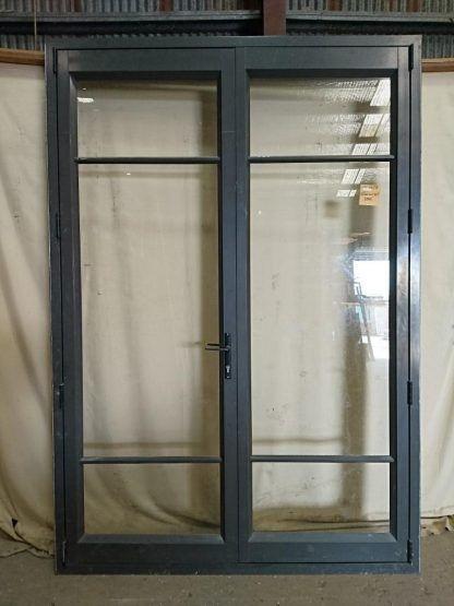 Ironsand aluminium French doors