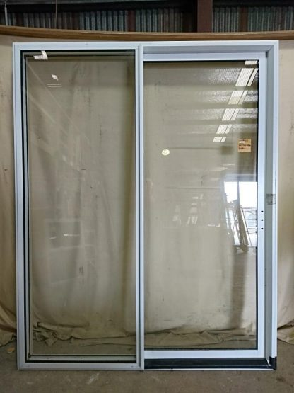 Appliance white aluminium double glazed ranch slider