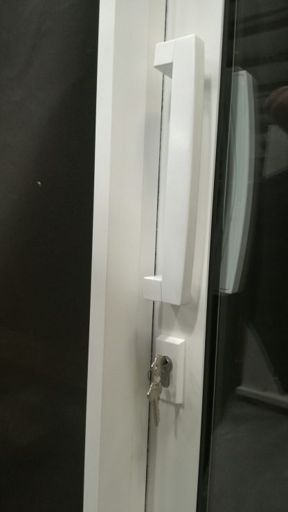 Double Glazed Off White Aluminium Ranch Slider - As New / Unused