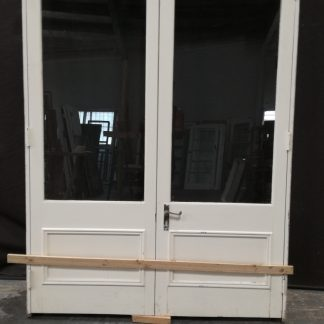 Traditional Style French Doors With Toplight - No Sill