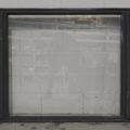 storm blue Aluminium double awning landscape window
