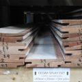Cedar Rebated Splaycut Weatherboard